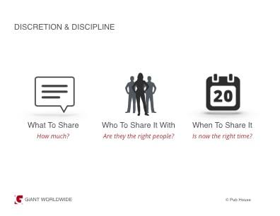 Discretion and Discipline