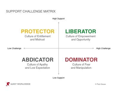 support challenge matrix